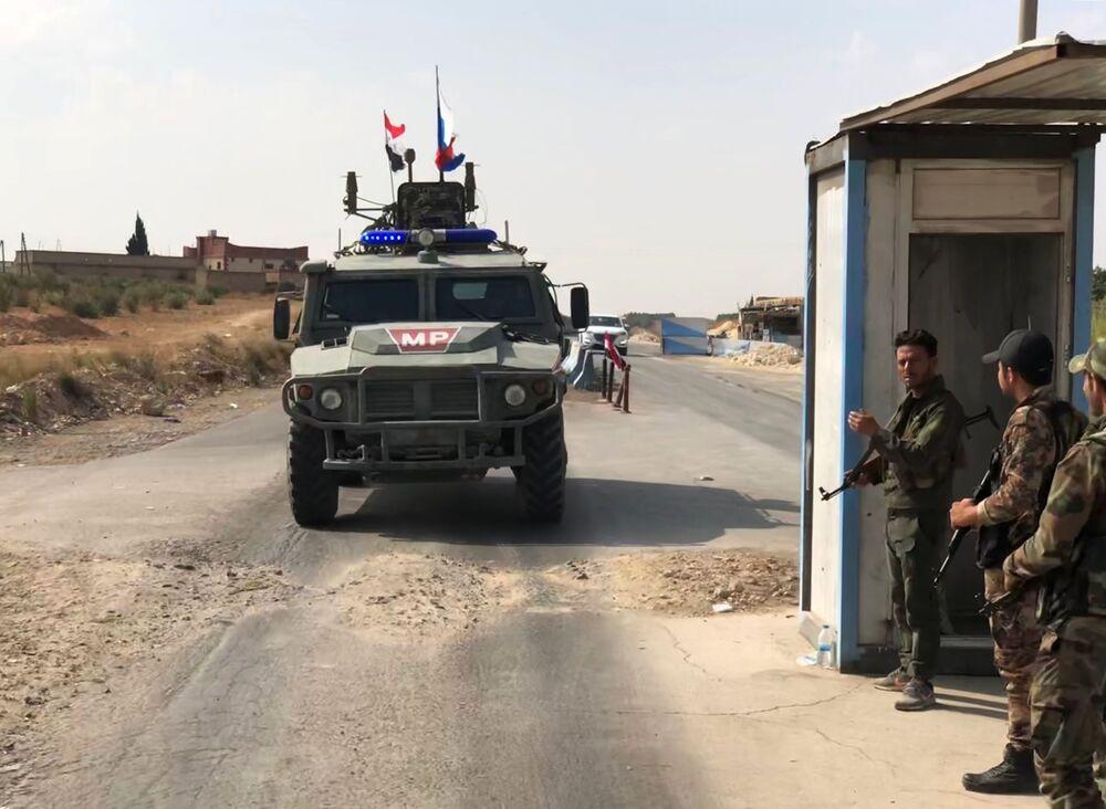 Miasto Ajn al-Arab na granicy z Turcją