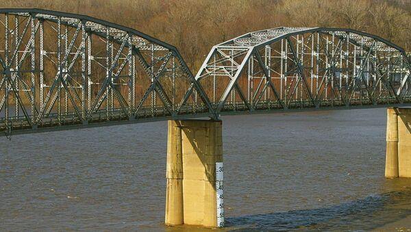 Most Champ Clark przez rzekę Missisipi, USA - Sputnik Polska