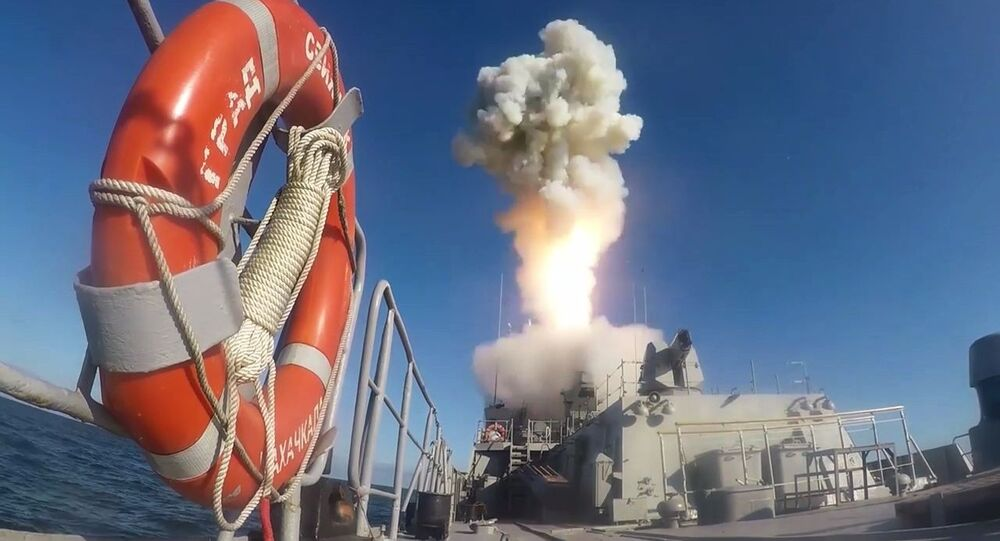 """Start rakiety """"Kaliber"""""""