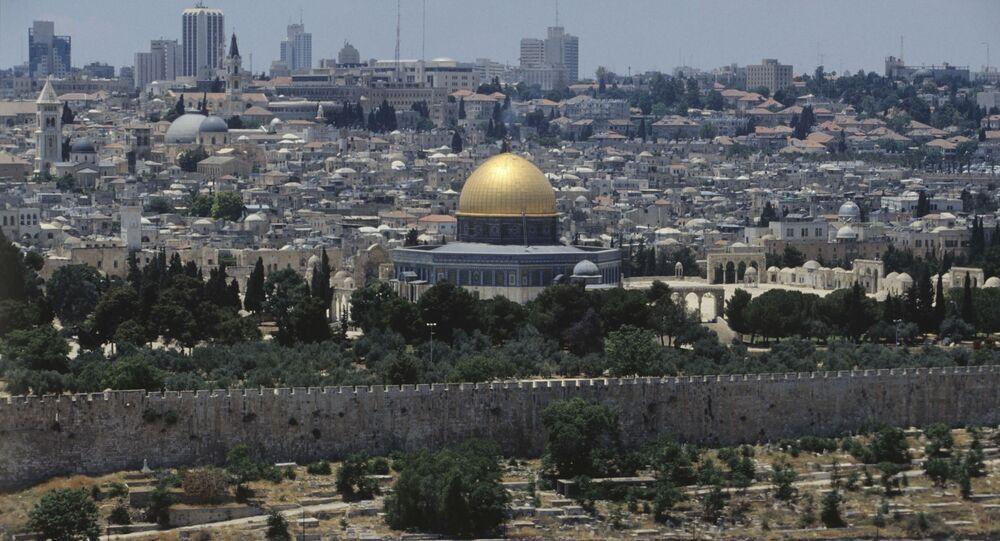 Widok na Jerozolimę.