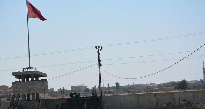 Amerykańscy wojskowi opuszczają bazę w syryjskim mieście Tall Tamr