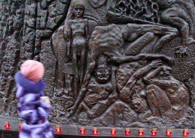 Pomnik ofiar Hołodomoru we Lwowie