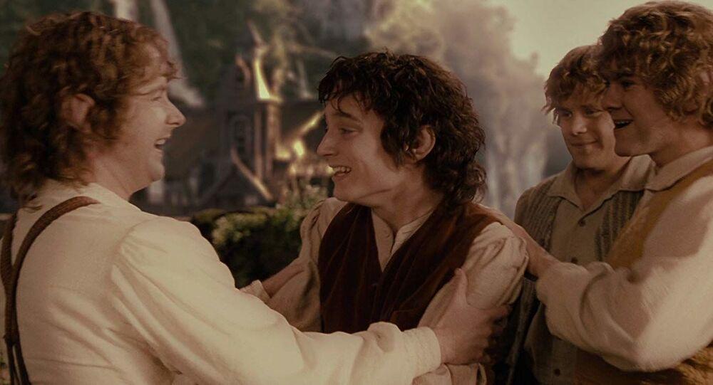 """Kadr z filmu """"Władca Pierścieni"""""""