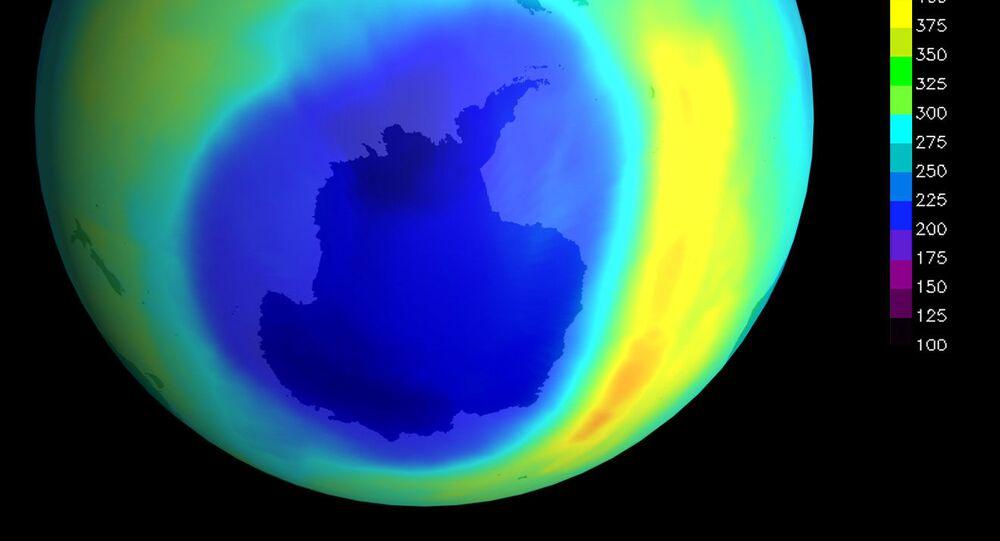 Dziura ozonowa Antarktyda