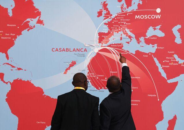 """Uczestnicy forum gospodarczego """"Rosja-Afryka"""" w Soczi"""