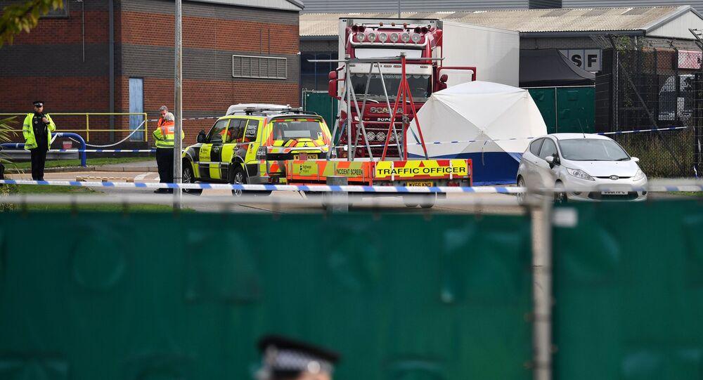 Essex: miejscie odkrycia ciężarówki z 39 ciałami