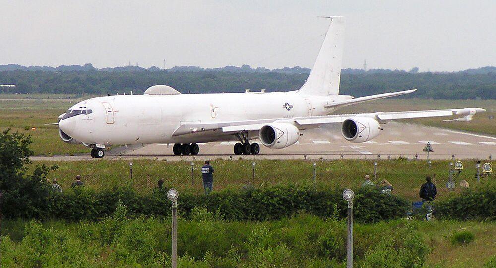 Samolot Marynarki Wojennej USA E-6B Mercury