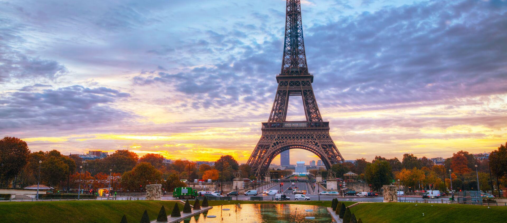 Wieża Eiffla Paryż Francja - Sputnik Polska, 1920, 09.06.2021