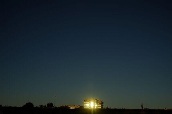 Wieczór w Pampelunii, Hiszpania  - Sputnik Polska