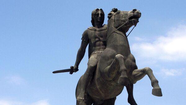 Pomnik Aleksandra Macedońskiego - Sputnik Polska