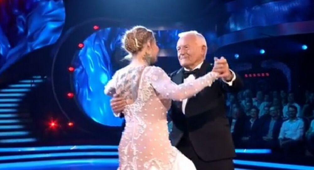 Leszek Miller z wnuczką w Tańcu z Gwiazdami