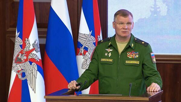 Rzecznik rosyjskiego Ministerstwa Obrony Igor Konaszenkow - Sputnik Polska