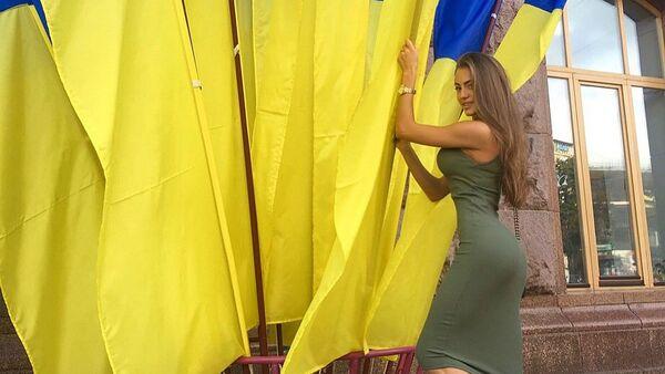 Miss Ukraina 2019 Margerita Pasza - Sputnik Polska