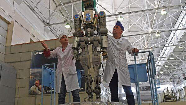 Robot Fiodor - Sputnik Polska