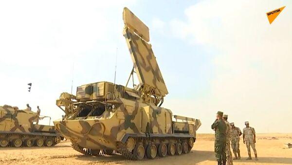 Szkolenie Rosji i Egiptu z udziałem systemów obrony powietrznej Buk-M2E  - Sputnik Polska