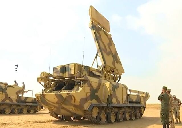 Szkolenie Rosji i Egiptu z udziałem systemów obrony powietrznej Buk-M2E