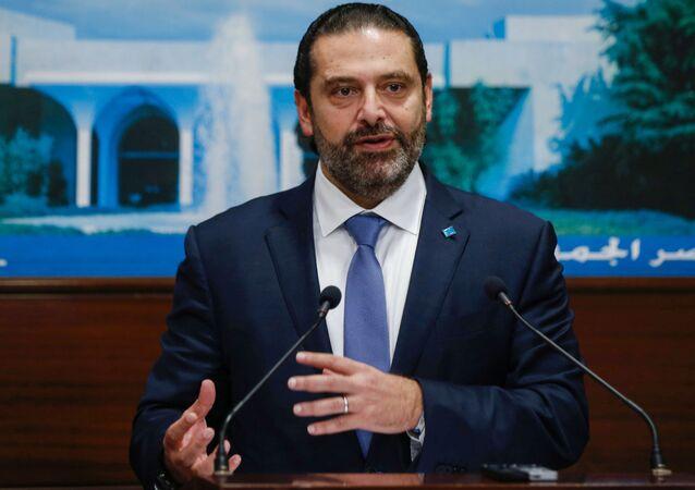 Premier Libanu Sad al-Hariri