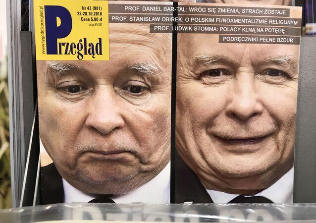 Jarosław Kaczyński na okładce tygodnika Przegląd