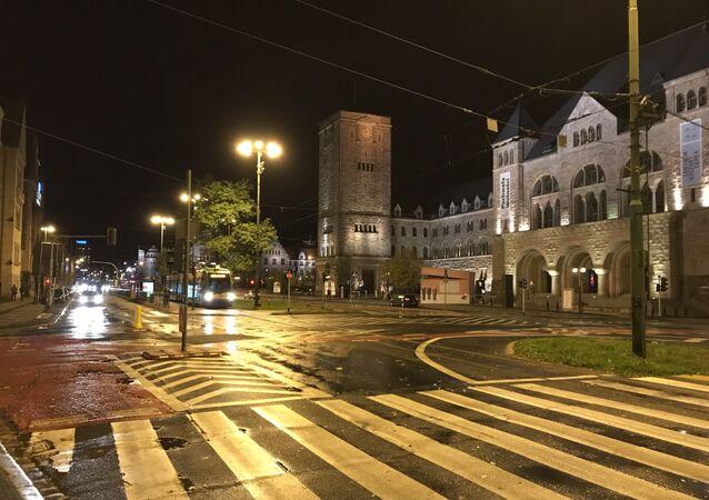 Ulica w Poznaniu