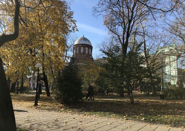 Gruzińska cerkiew niedaleko polskiej ambasady