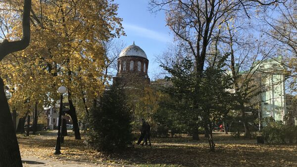 Gruzińska cerkiew niedaleko polskiej ambasady - Sputnik Polska