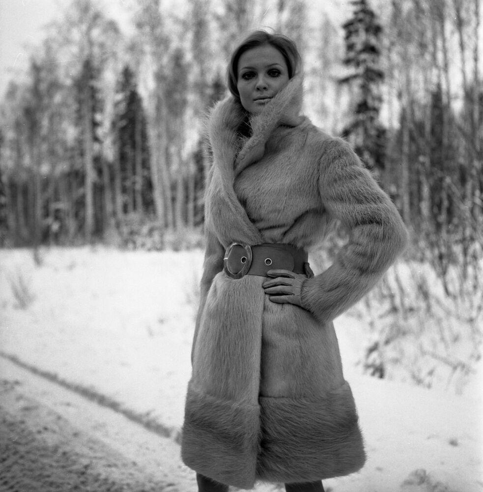 Futro z nutrii z kolekcji rosyjskich futer z 1968 r.
