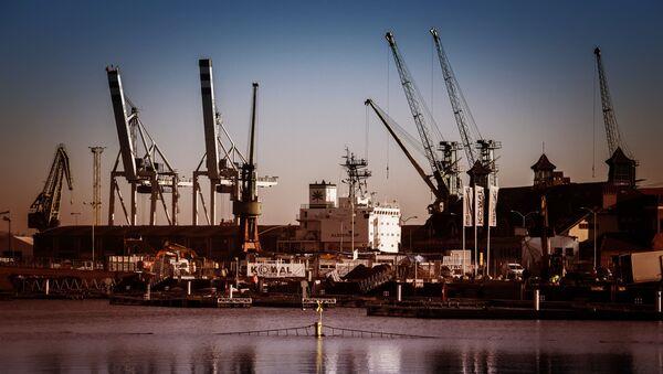 Port morski w Szczecinie - Sputnik Polska