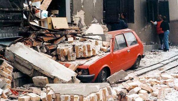 Bombardowanie Jugosławii przez NATO - Sputnik Polska