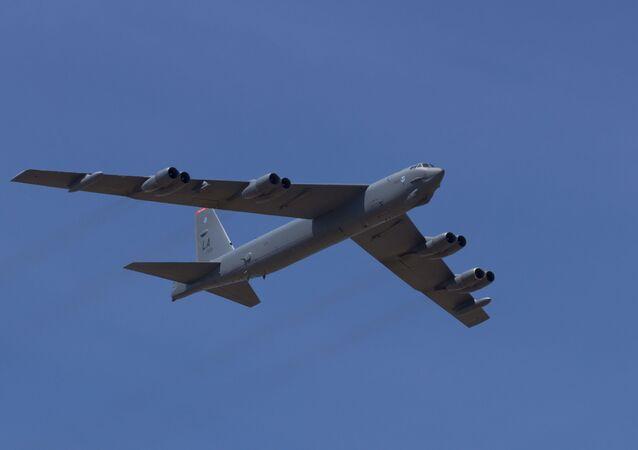 Stratofortress B-52.
