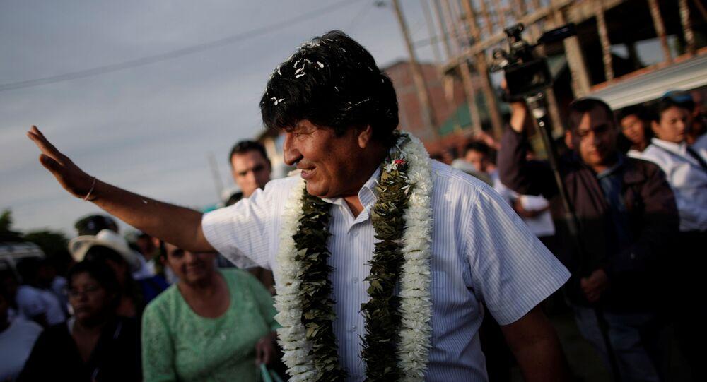 Evo Morales, prezydent Boliwii