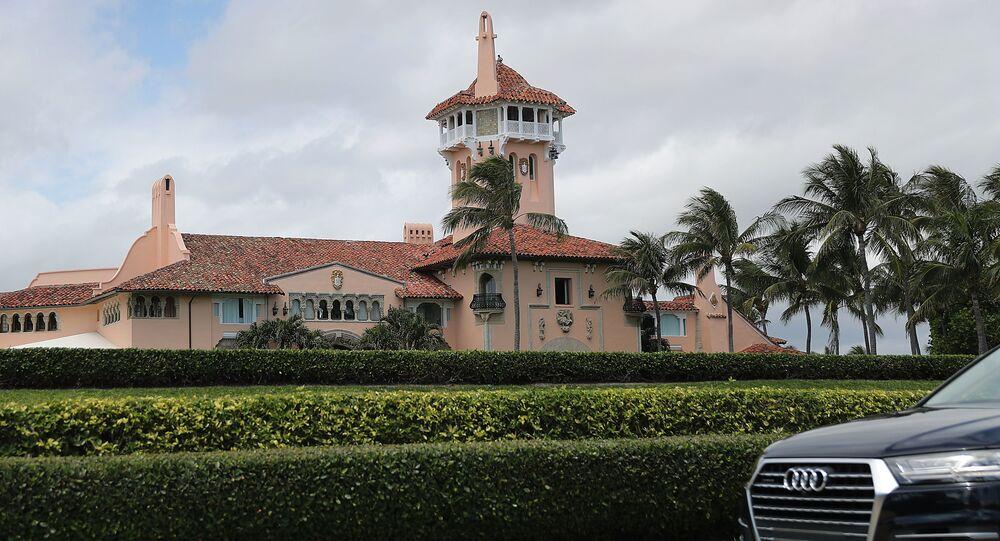 Posiadłość prezydenta USA Donalda Trumpa Mar-a-Lago na Florydzie