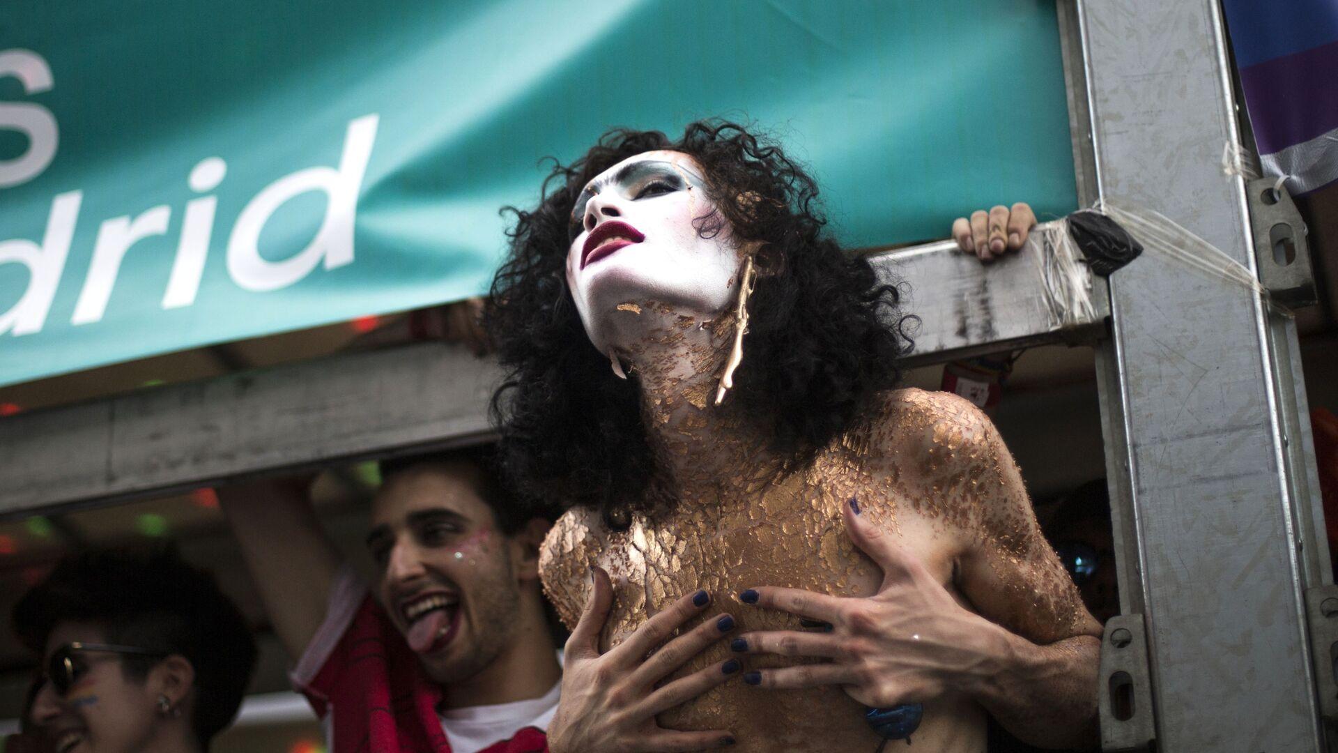 Parada LGBT w Madrycie - Sputnik Polska, 1920, 18.07.2021