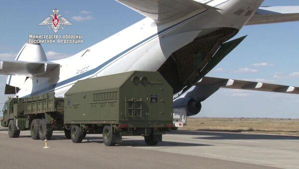 Dostawa komponentów systemu obrony powietrznej S-400 do Turcji - Sputnik Polska