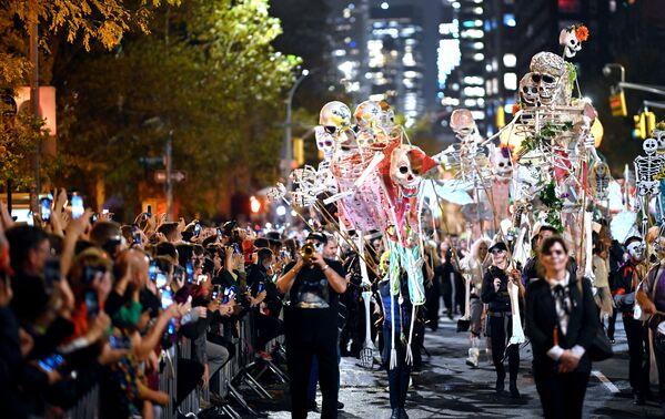 Halloween w Nowym Jorku - Sputnik Polska