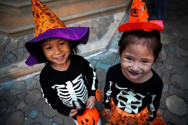Halloween w Tajlandii - Sputnik Polska