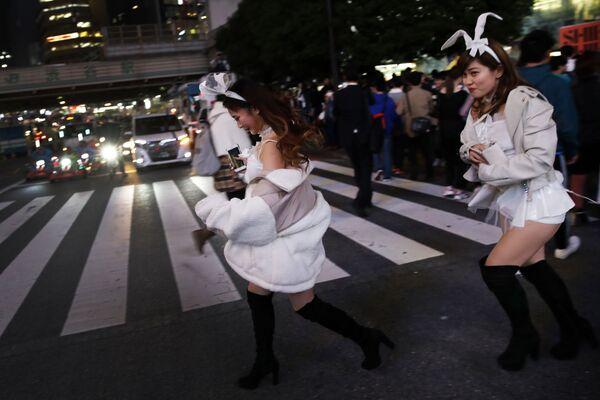Halloween w Japonii - Sputnik Polska