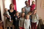 Fabrice Sorlin i jego rodzina