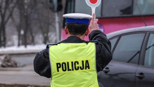 Kontrola drogowa - Sputnik Polska