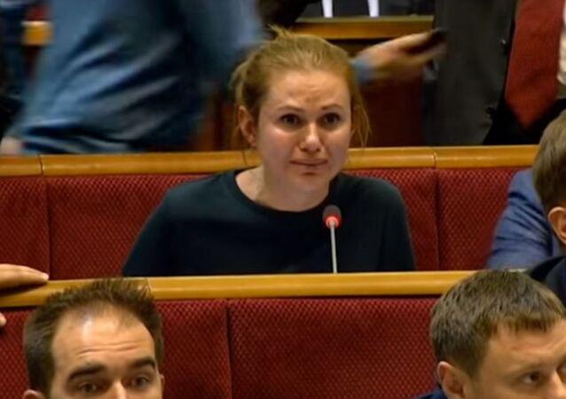 Deputowana ukraińskiej Rady Najwyższej Anna Skorohod
