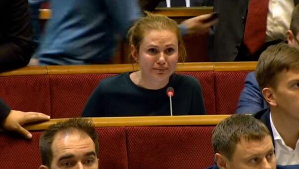Deputowana ukraińskiej Rady Najwyższej Anna Skorohod - Sputnik Polska