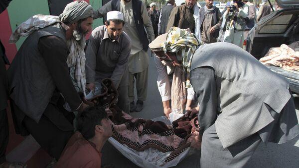 Rezultatem działań sił kontrolowanych przez Waszyngton w Afganistanie jest śmierć niewinnych ludzi. - Sputnik Polska