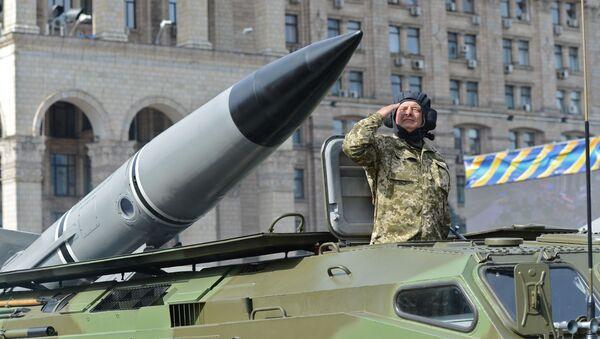 Taktyczny zestaw rakietowy 9K79 Toczka ukraińskiej armii. - Sputnik Polska