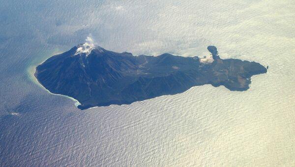 Wulkan na wyspie Satsuma-iojima, Japonia. - Sputnik Polska