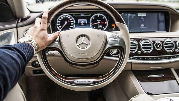 Wnętrze samochodu Mercedes - Sputnik Polska