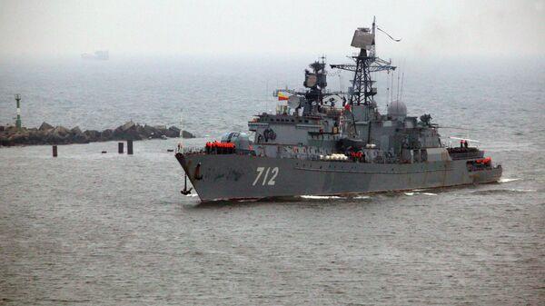 Strażniczy okręt Floty Bałtyckiej Nieustraszony - Sputnik Polska