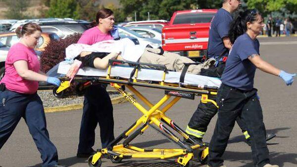 Ofiary strzelaniny w college'u w Roseburg w stanie Oregon, USA - Sputnik Polska