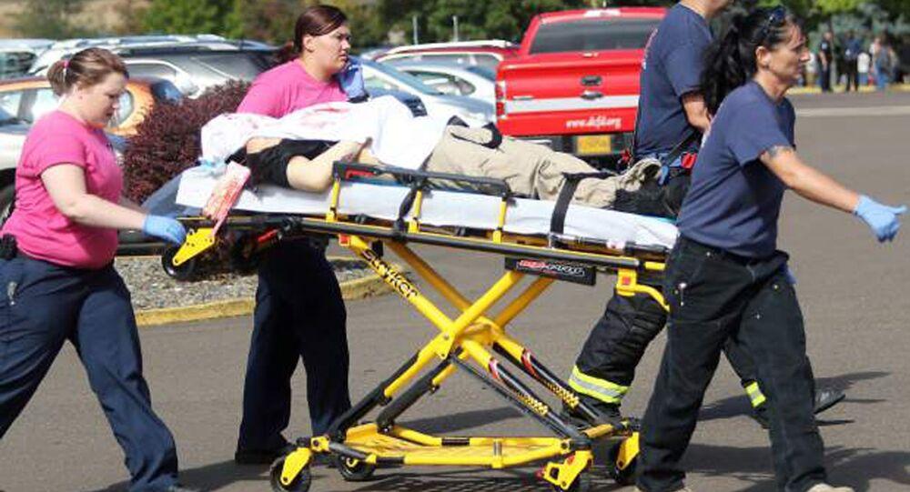 Ofiary strzelaniny w college'u w Roseburg w stanie Oregon, USA