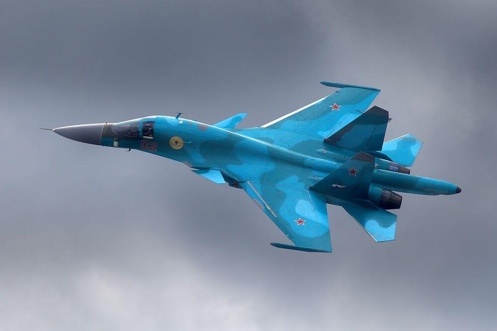 Rosyjski samolot myśliwsko-bombowy Su-34