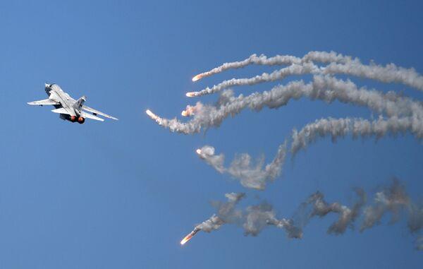 Dwusilnikowy samolot bombowy Su-24 - Sputnik Polska