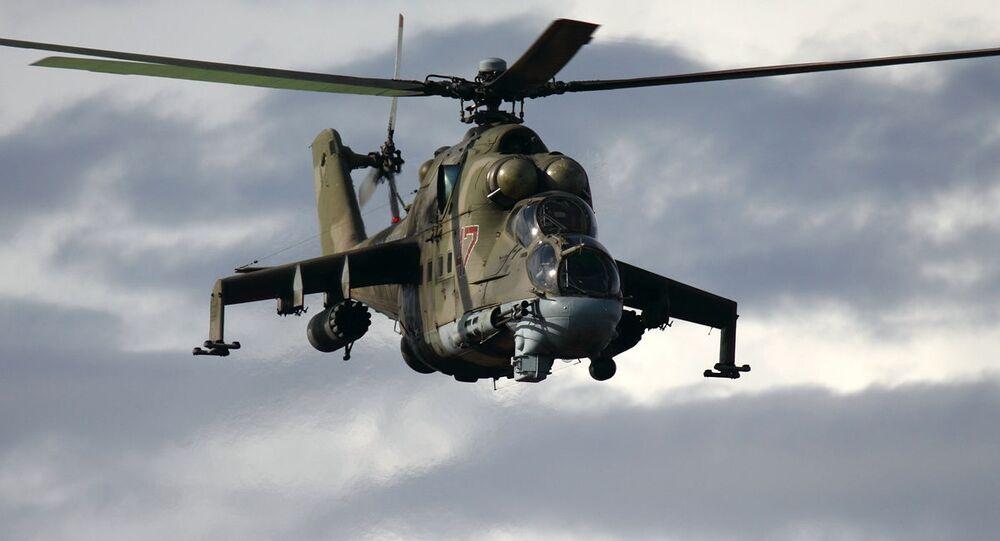 Ciężki śmigłowiec bojowy Mi-24